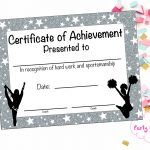 17 Images Of Megaphone Award Certificate Template | Unemeuf   Free Printable Cheerleading Certificates