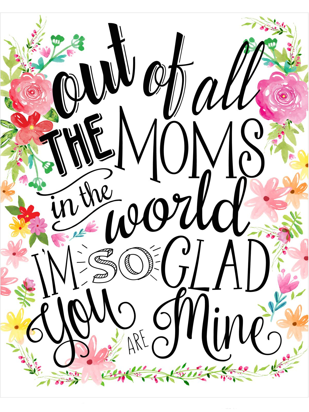 18 Mothers Day Cards - Free Printable Mother's Day Cards - Free Printable Mothers Day Cards