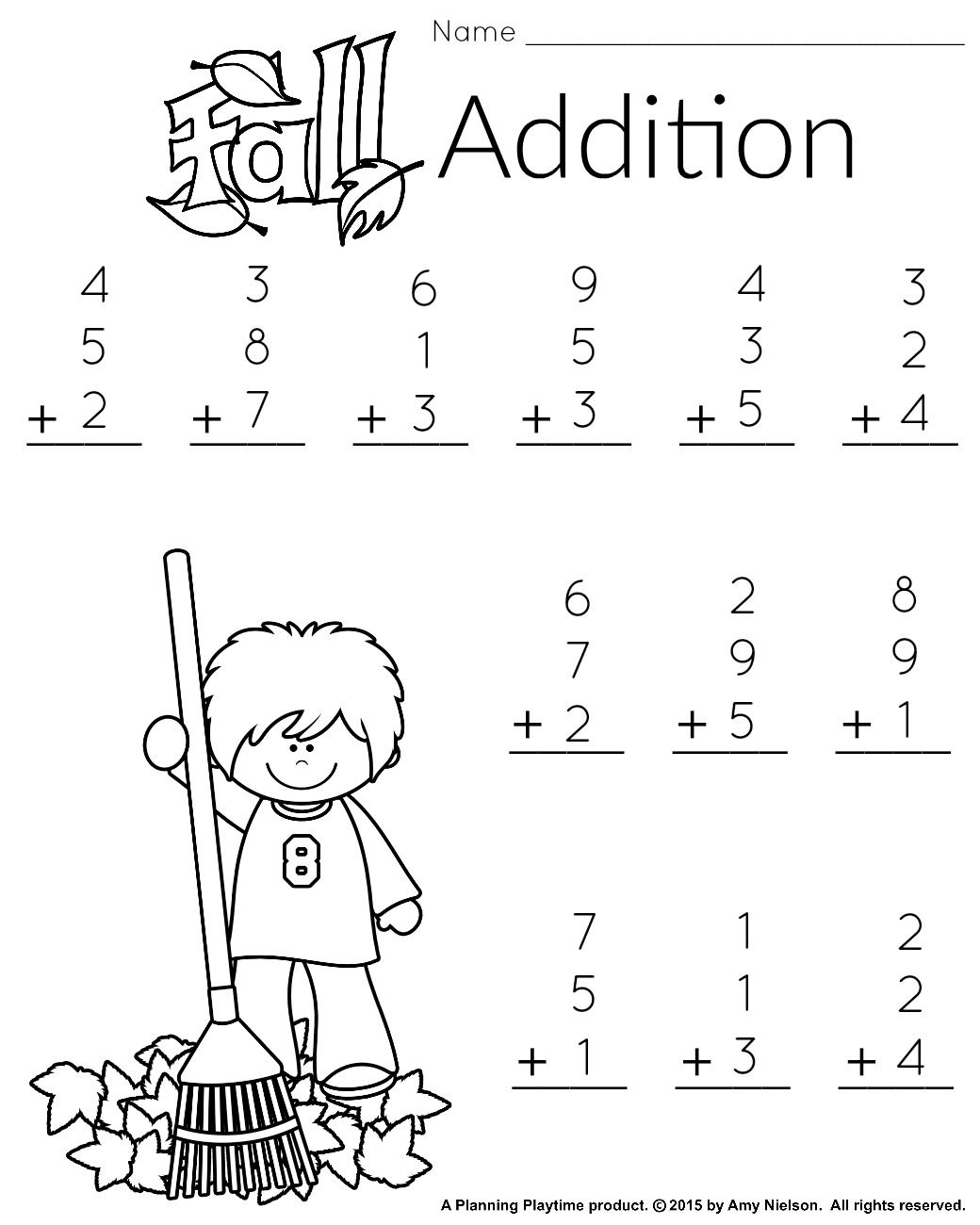 1St Grade Math And Literacy Worksheets With A Freebie - Free Printable Worksheets For 1St Grade