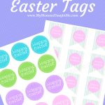 2 Different Free Printable Happy Easter Tags   My Momma Taught Me   Free Printable Easter Tags