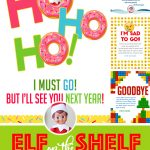 20+ Elf On The Shelf Departure Letters– Many New Ideas For This Year!   Elf On The Shelf Free Printable Ideas