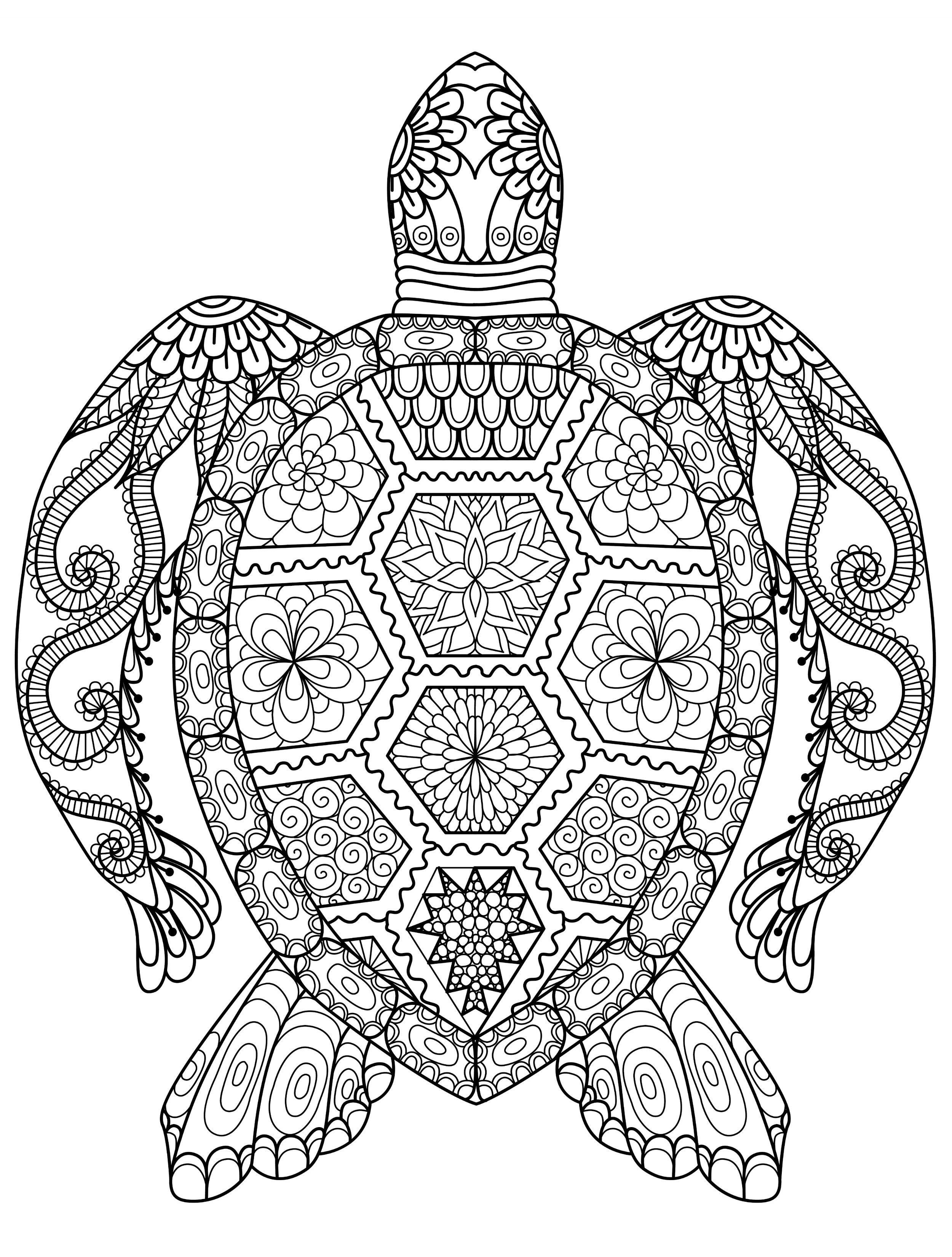 20 Gorgeous Free Printable Adult Coloring Pages … | Adult Coloring - Free Printable Mandala Coloring Pages For Adults