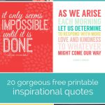 20 Gorgeous Printable Quotes | Free Inspirational Quote Prints   Free Printable Quote Stencils