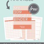 2019 Budget Binder Worksheets   Free Download   Frugal Fanatic   Free Printable Budget Binder Worksheets