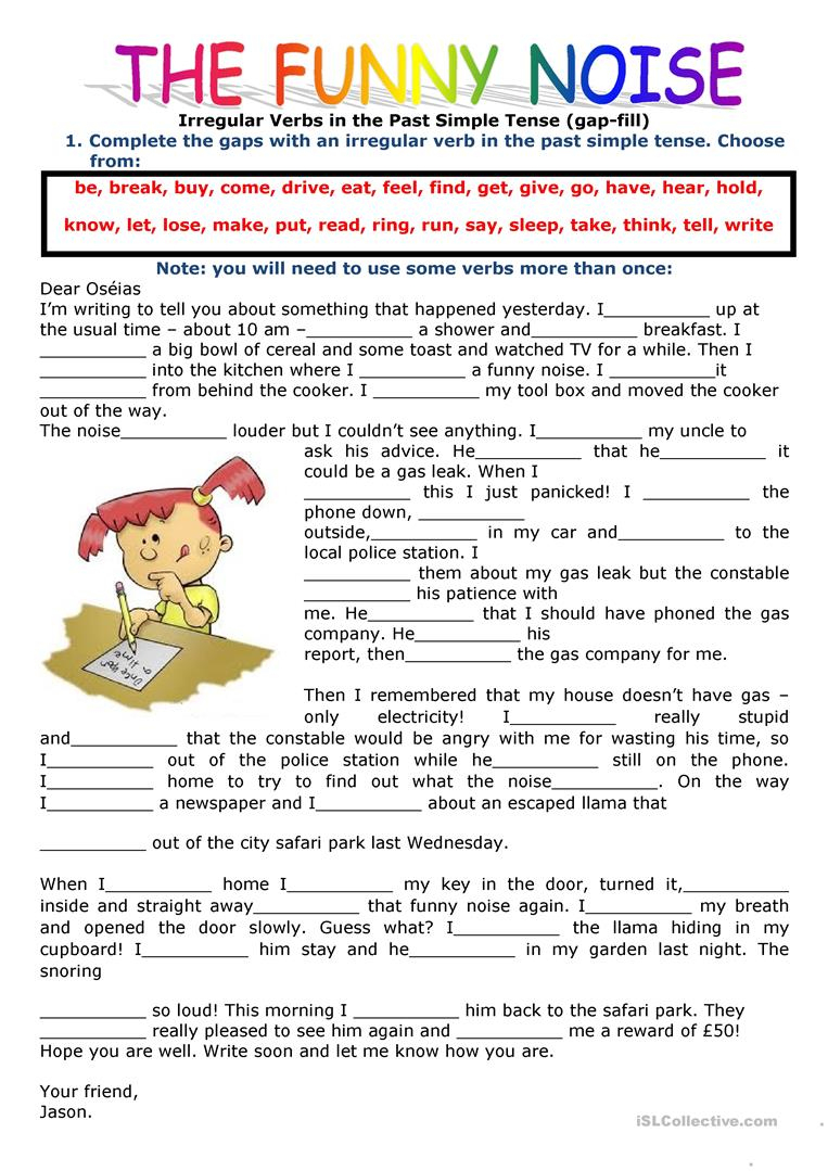 2421 Free Esl Past Simple Tense Worksheets - Free Printable Past Tense Verbs Worksheets