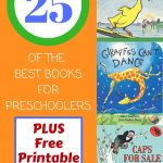 25 Of The Best Books For Preschoolers | Pre K/k | Pinterest   Free Printable Pre K Reading Books