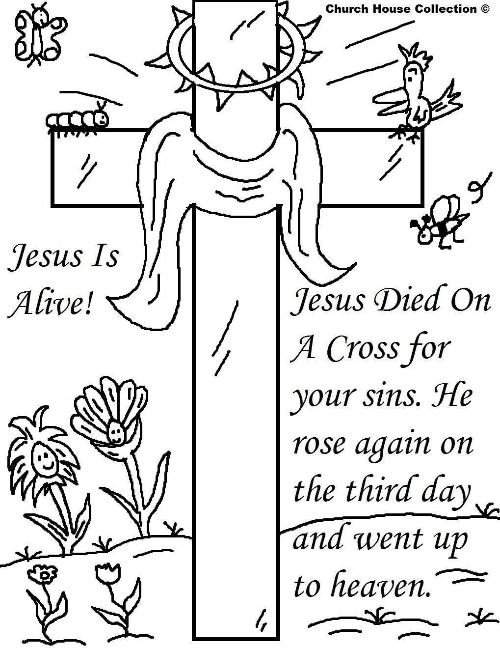 25 Religious Easter Coloring Pages | Free Easter Activity Printables - Coloring Pages Free Printable Easter