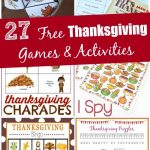 27 Free Thanksgiving Games & Activities (Printable)   Edventures   Thanksgiving Games Printable Free
