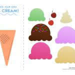 28 Images Of Free Printable Ice Cream Template   Unemeuf   Ice Cream Cone Template Free Printable