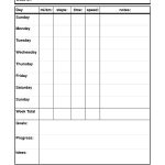 29 Images Of Dog Walking Schedule Template | Bfegy   Free Printable Walking Log