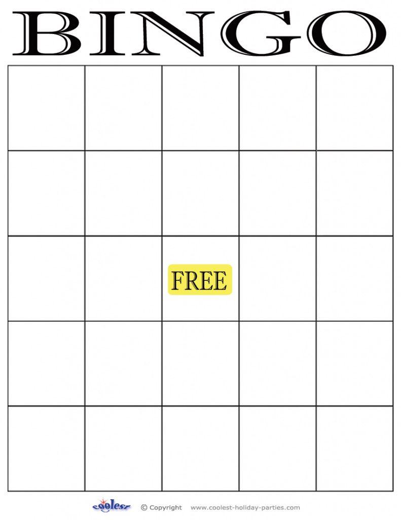 29 Images Of Empty Bingo Template   Leseriail Within Free Printable - Free Printable Blank Bingo Cards