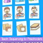 3 Step Sequencing Cards Free Printables For Preschoolers | Speech   Free Printable Sequencing Worksheets For Kindergarten