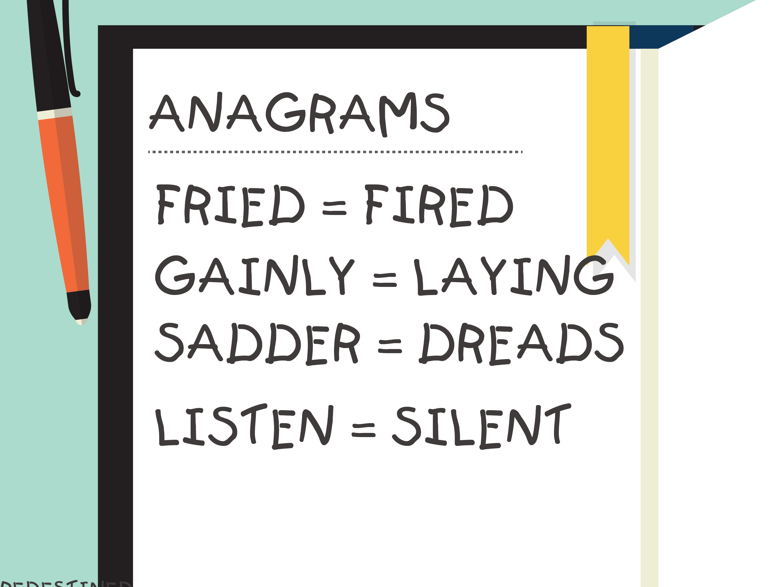 3 Ways To Solve Anagrams Effectively - Wikihow - Free Printable Anagram Magic Square Puzzles