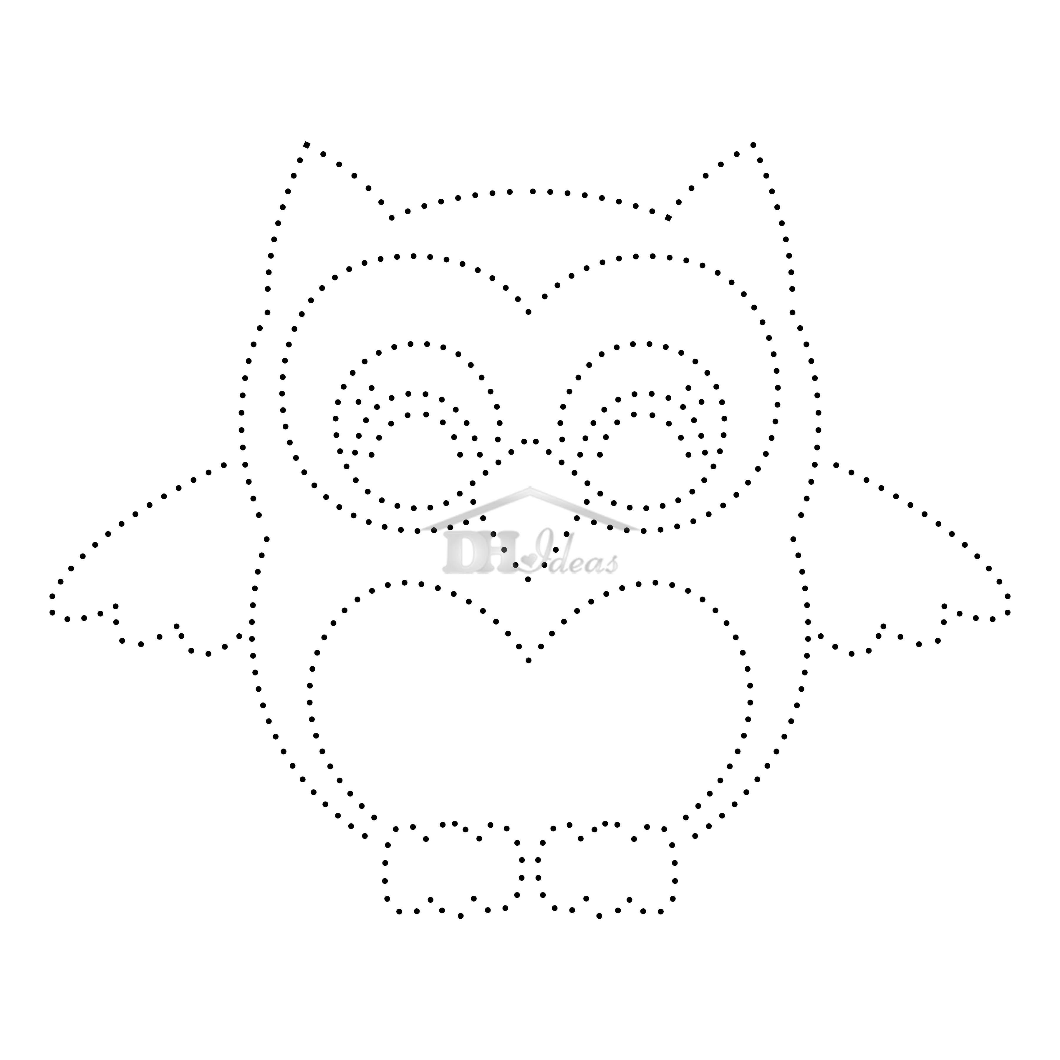 30 Free Printable String Art Patterns (Direct Download) - Free Printable String Art Patterns