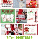 30+ Printable Elf On The Shelf Ideas | Elf On The Shelf Ideas   Elf On The Shelf Free Printable Ideas