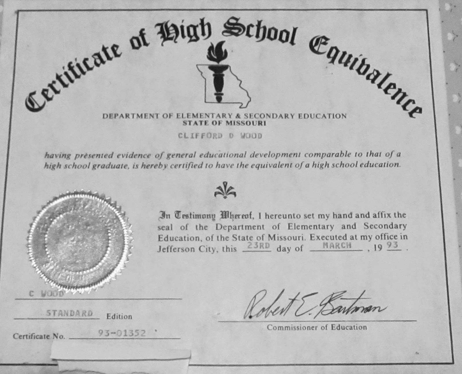 30 Simple Printable Fake Ged Certificate For Free Fu-29310 - Pro - Printable Fake Ged Certificate For Free