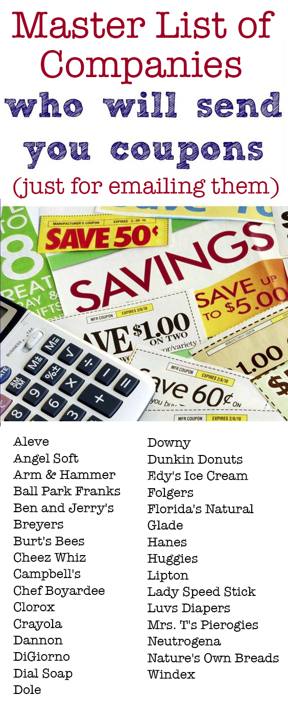 31 Companies That Will Send You Free Couponsmail | Mom Hacks - Free Printable Crayola Coupons