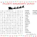 31 Free Christmas Word Search Puzzles For Kids   Free Printable Christmas Word Search
