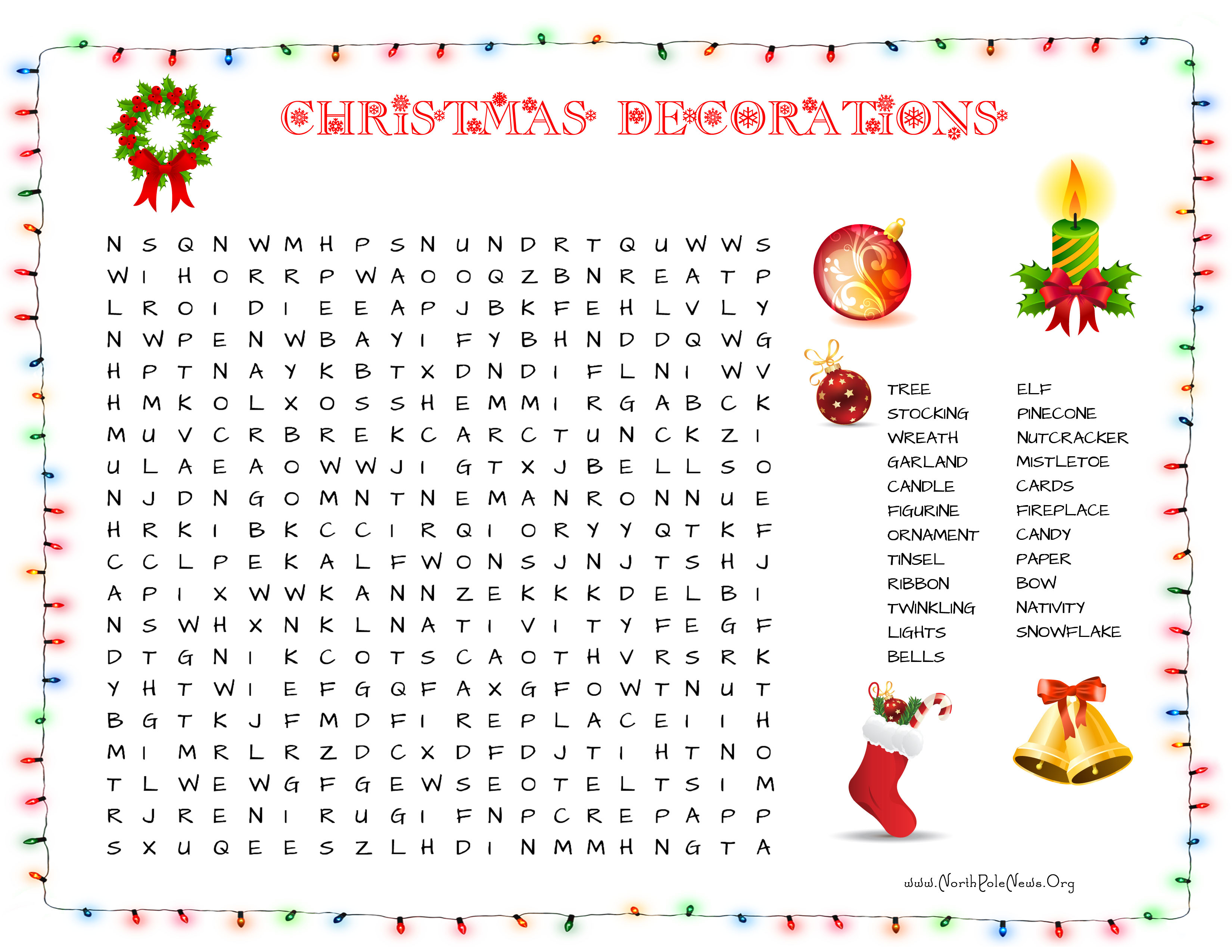 31 Free Christmas Word Search Puzzles For Kids - Free Printable Christmas Word Search Pages