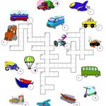 310 Free Esl Means Of Transport Worksheets   Free Printable Transportation Worksheets For Kids