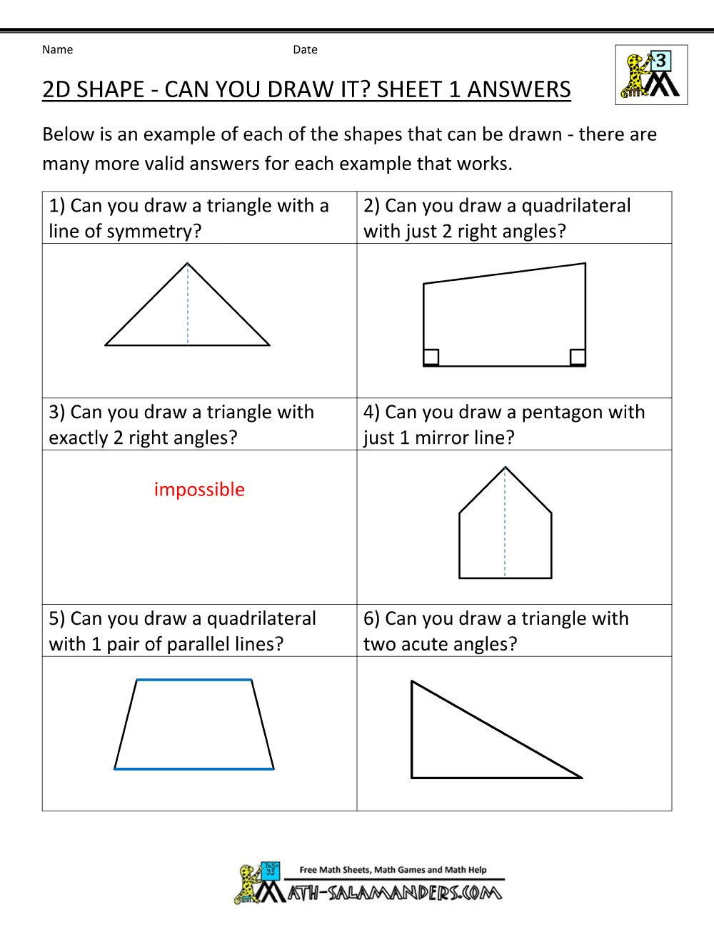 3Rd Grade Geometry Worksheets - Briefencounters Worksheet Template - Free Printable Geometry Worksheets For 3Rd Grade