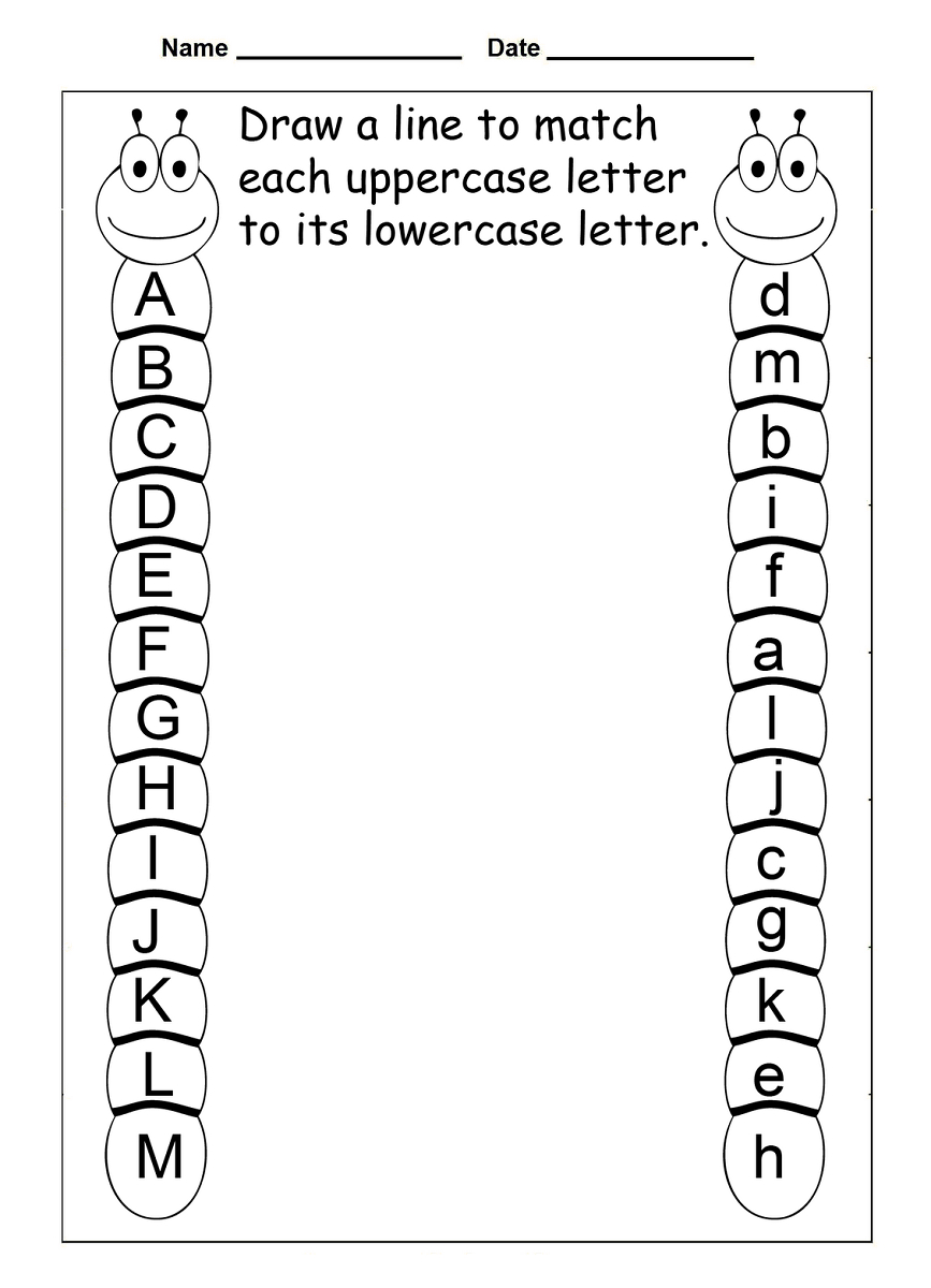 4 Year Old Worksheets Printable | Kids Worksheets Printable - Free Printable Preschool Worksheets
