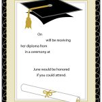 40+ Free Graduation Invitation Templates   Template Lab   Free Online Printable Graduation Invitation Maker