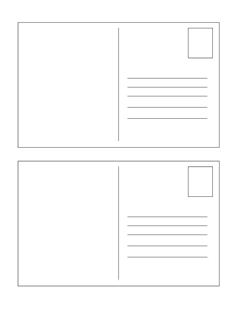 40+ Great Postcard Templates & Designs [Word + Pdf] - Template Lab - Free Blank Printable Postcards