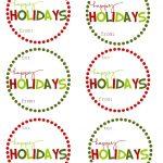 40 Sets Of Free Printable Christmas Gift Tags   Free Online Gift Tags Printable