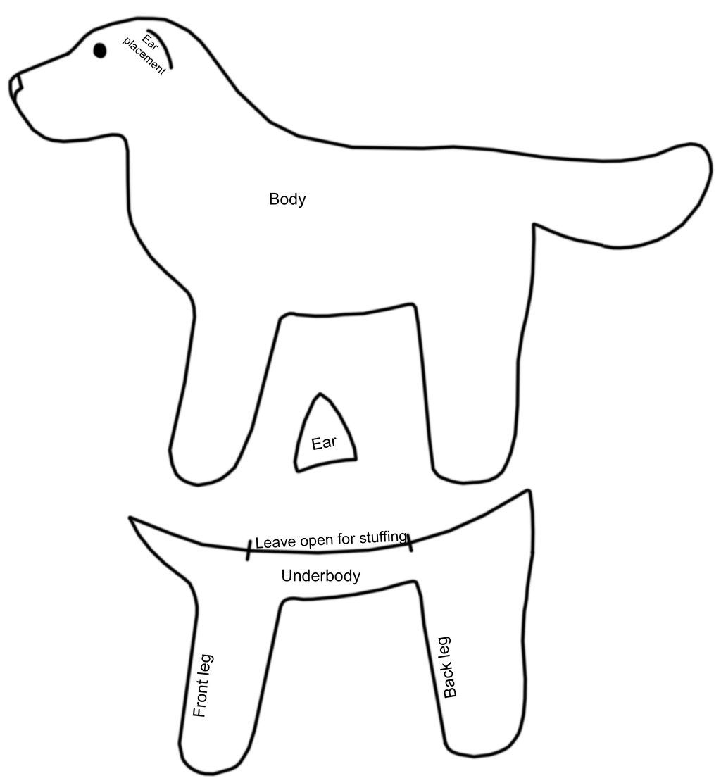 45 Free Printable Sewing Patterns | Diy | Felt Dogs, Felt Ornaments - Dog Sewing Patterns Free Printable