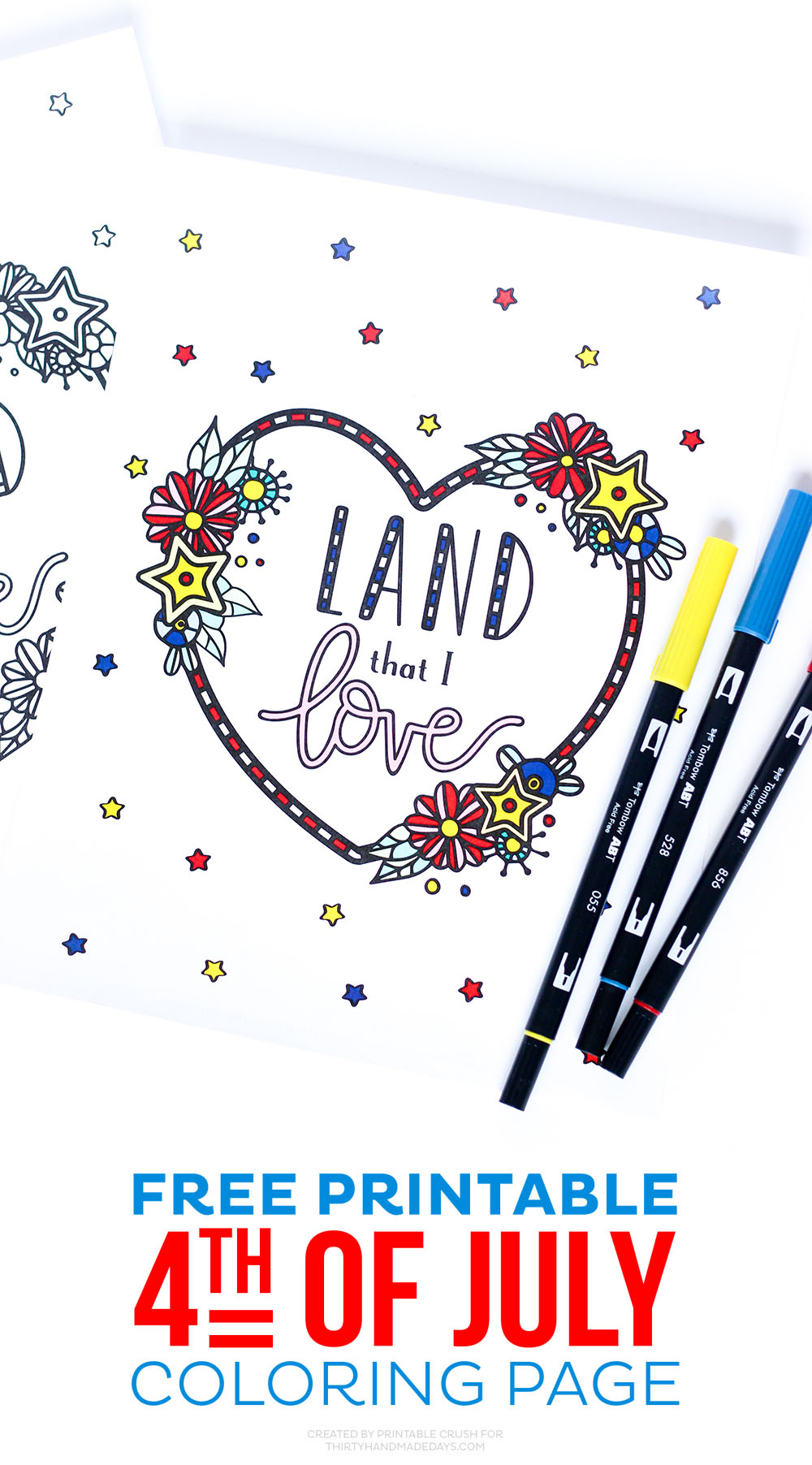 4Th Of July Coloring Pages - Free Printable 4Th Of July Stationery