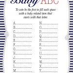 50+ Free Baby Shower Printables For A Perfect Party   Page 21   Baby Name Race Free Printable