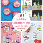 50 Free Printable Valentine's Day Cards   Free Printable Childrens Valentines Day Cards