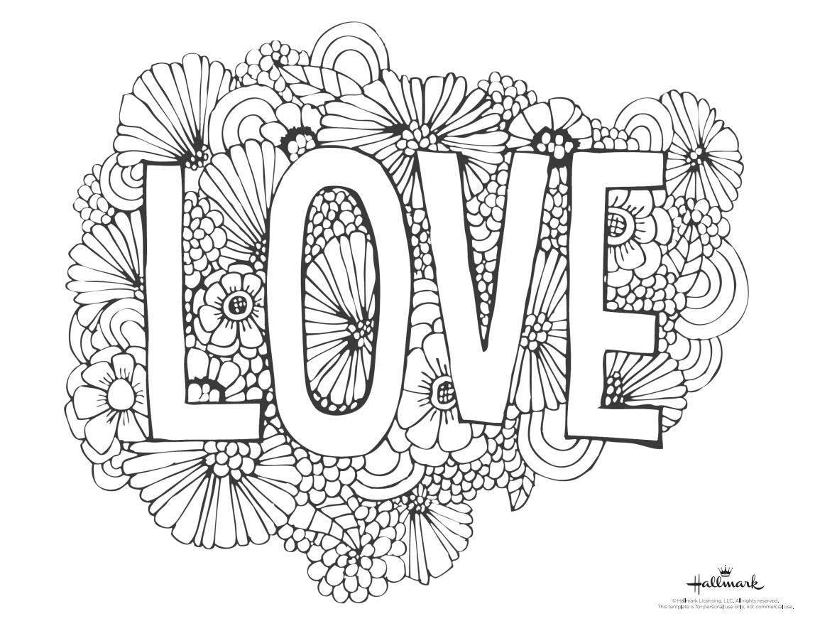 543 Free, Printable Valentine's Day Coloring Pages - Free Printable Valentines Day Coloring Pages