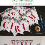 6 Free Printable Christmas Signs | Christmas | Pinterest | Christmas   Free Printable Christmas Banner