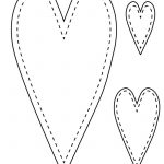 6 Free Printable Heart Templates | Printables | Pinterest | Heart   Free Printable Heart Templates