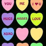 6 Free Printable Heart Templates | Valentine Ideas | Pinterest   Free Printable Valentine's Day Stencils