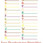 60+ Free Thanksgiving Printables For Kids   Natural Beach Living   Thanksgiving Games Printable Free