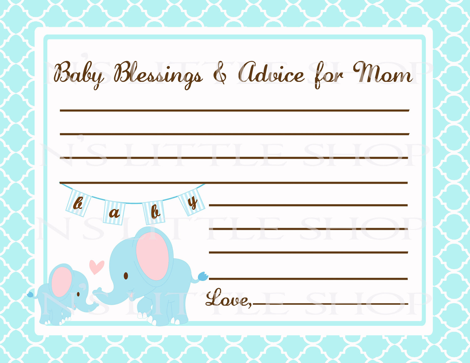 7 Best Images Of Mom Advice Cards Free Printable Owl Schluter Kerdi - Free Printable Baby Cards Templates