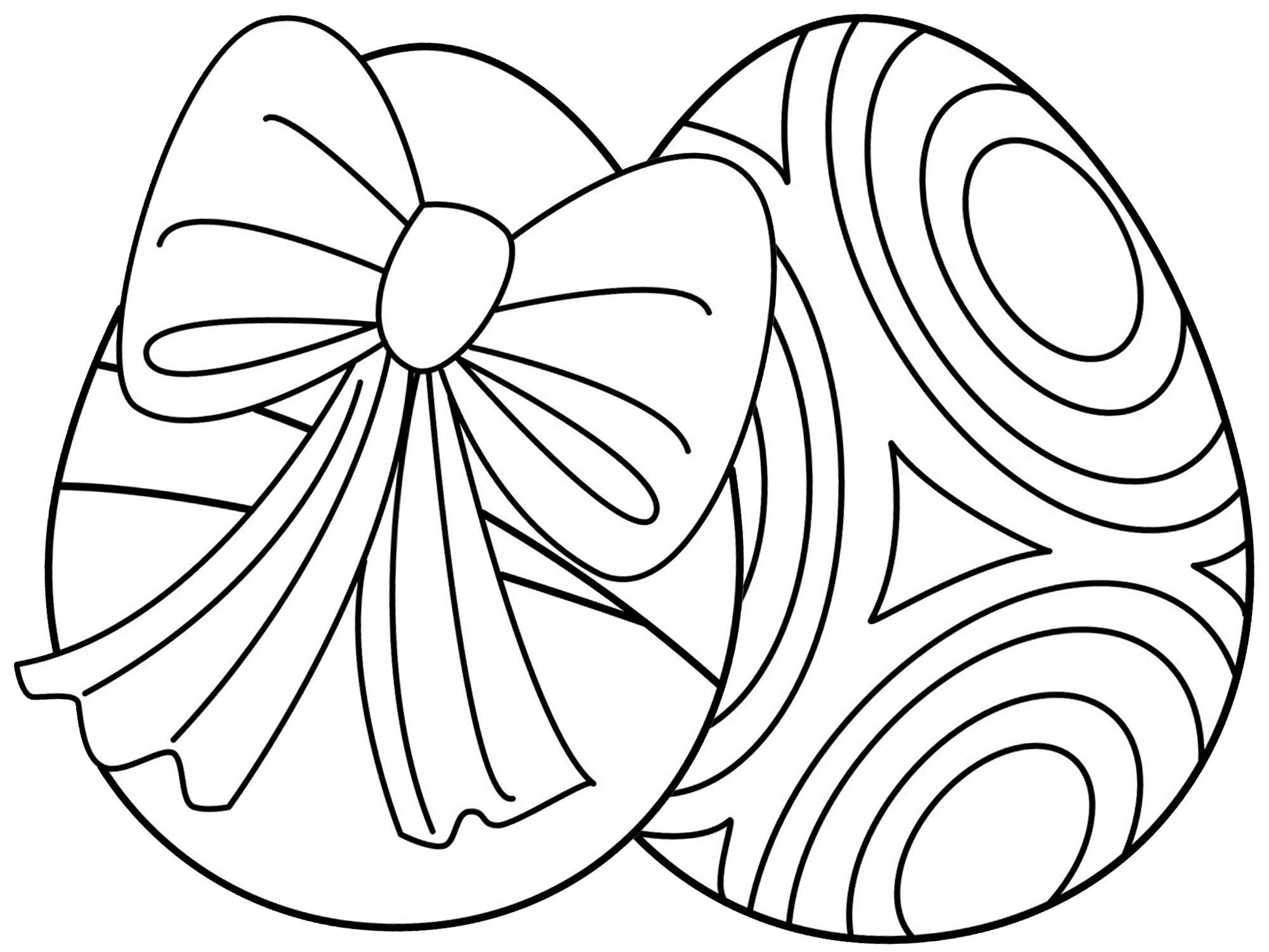 7 Places For Free, Printable Easter Egg Coloring Pages - Free Printable Easter Basket Coloring Pages