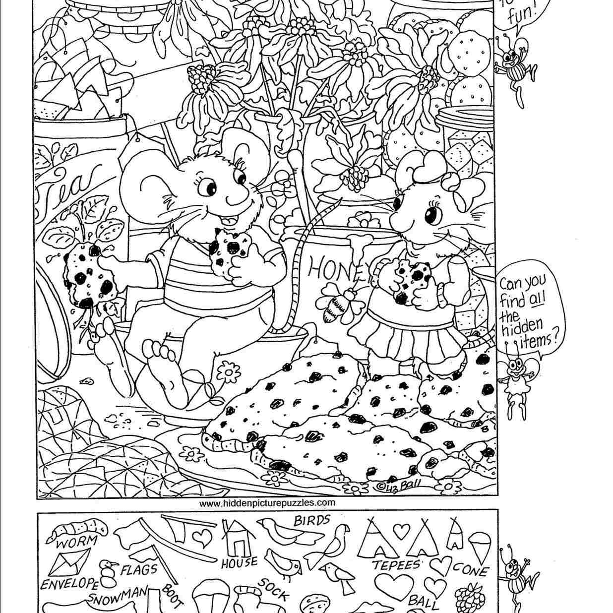 7 Places To Find Free Hidden Picture Puzzles For Kids - Free Printable Valentine Hidden Pictures