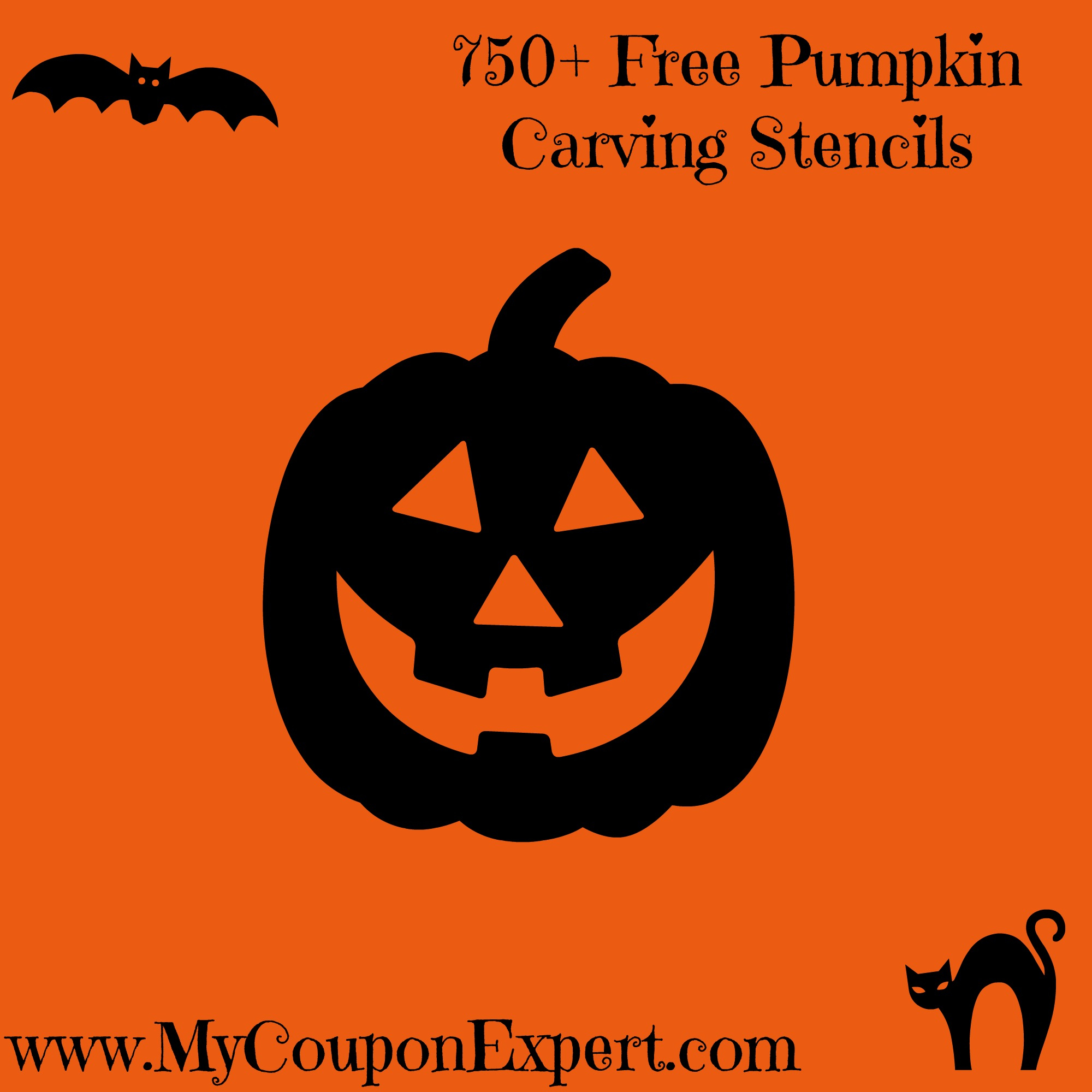 750+ Free Pumpkin Carving Stencils · - Free Pumpkin Carving Templates Printable