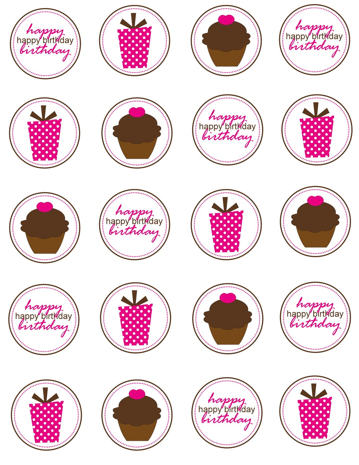 8 Cupcakes Ring Toppers Printables Photo - Diamond Ring Drink Tags - Cupcake Topper Templates Free Printable