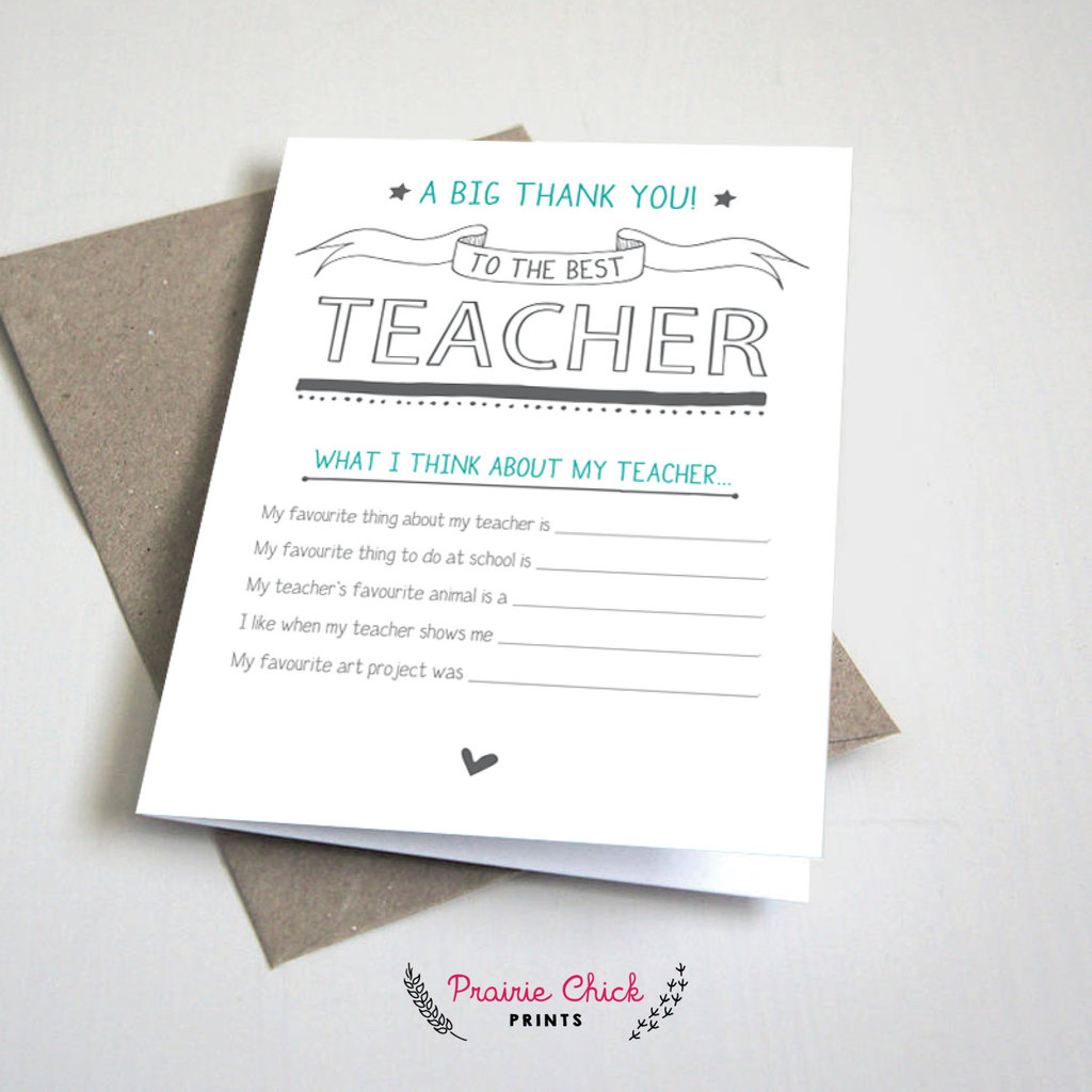8 Of The Best Teacher Appreciation Printables | Cool Mom Picks - Free Printable Teacher Appreciation Greeting Cards
