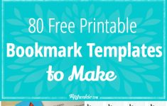 80 Free Amazing Bookmarks To Make {Free Printables} – Tip Junkie – Free Printable Blank Bookmarks