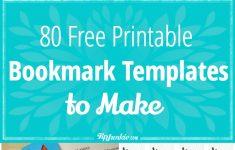 80 Free Amazing Bookmarks To Make {Free Printables} – Tip Junkie – Free Printable Blank Bookmarks