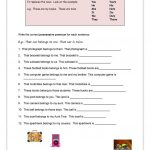 89 Free Esl Possessive Nouns Worksheets   Free Printable Possessive Nouns Worksheets