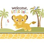 9 Free Lion King Baby Shower Invitations | Kittybabylove   Free Printable Lion King Baby Shower Invitations
