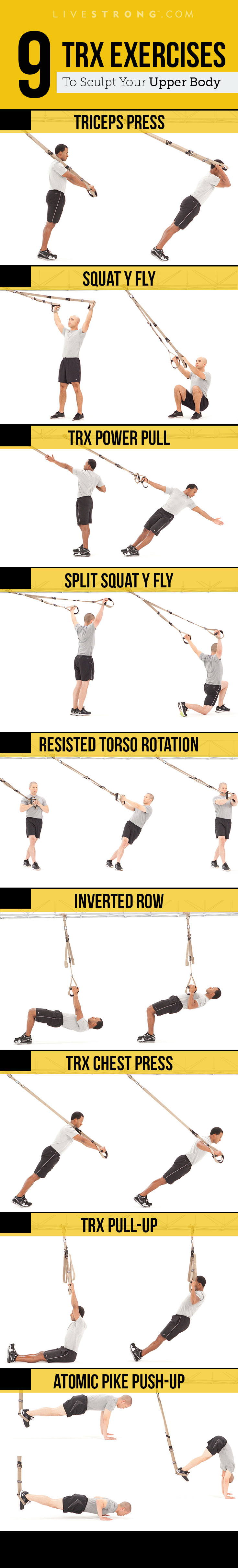 9 Trx Moves To Sculpt An Insanely Strong Upper Body | Livestrong - Free Printable Trx Workouts