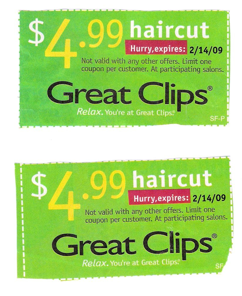 98+ Printable Coupons 2019 Great Clips Coupons. Printable Coupons - Supercuts Free Haircut Printable Coupon